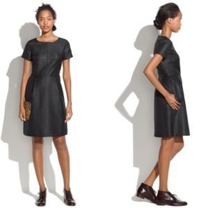 Madewell Fitted Brocade Sheath Dress size 4